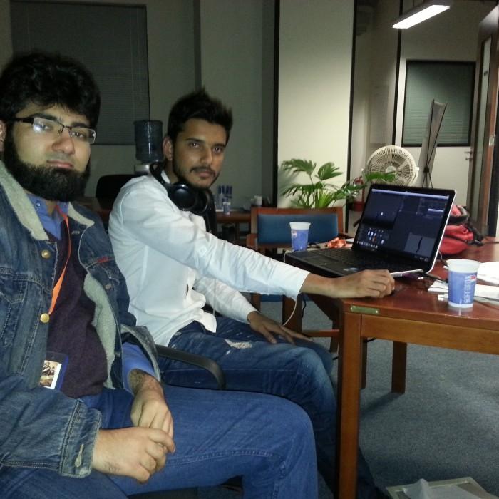 Mustafa Neguib and Faisal Shareef