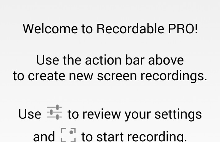 Recordable Screen Recording Android App by Mustafa Neguib